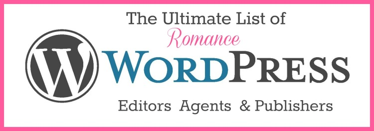 The Ultimate List of Romance WordPress Editors Agents and Publishers
