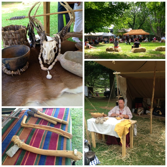 Native American Festival Collage 2