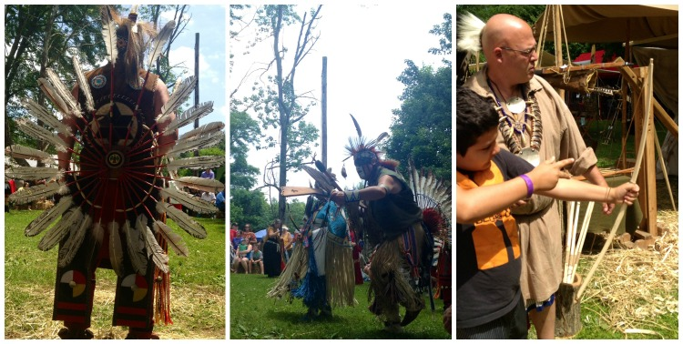 Native American Festival Collage