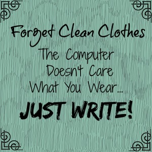 Forget Clean Clothes...
