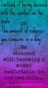 Be Obsessed with Body Acceptance