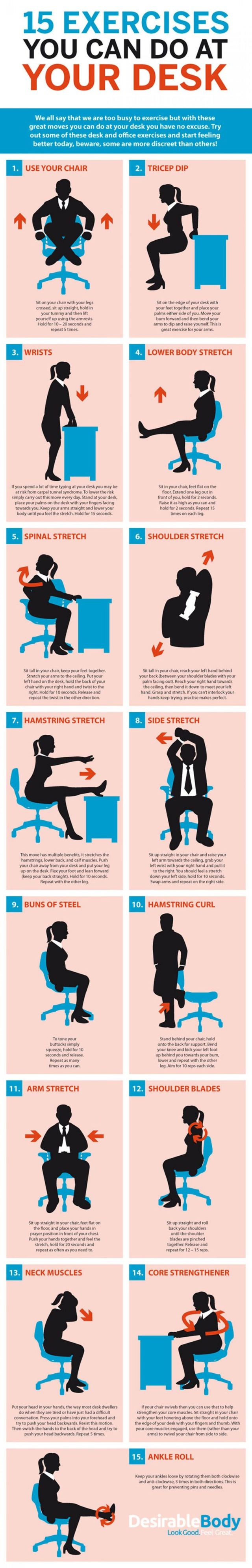 desk exercises 2