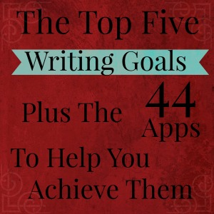 My Top Five Writing Goals for 2015