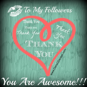 Thank You To My Followers