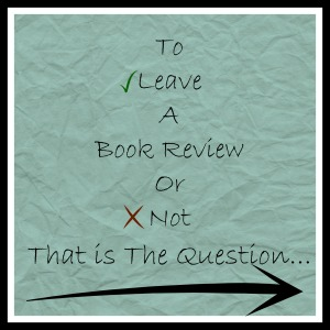Do you leave a book review