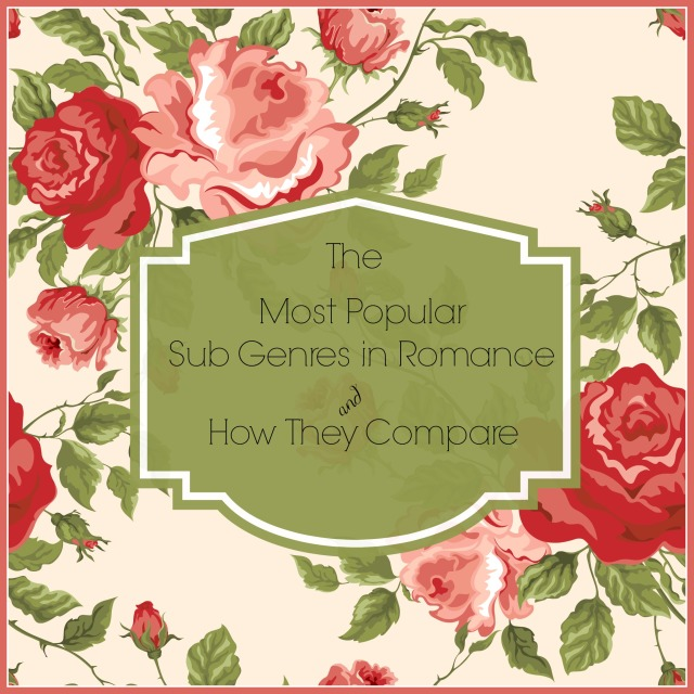 The Most Popular Sub Genres in Romance and How They Compare