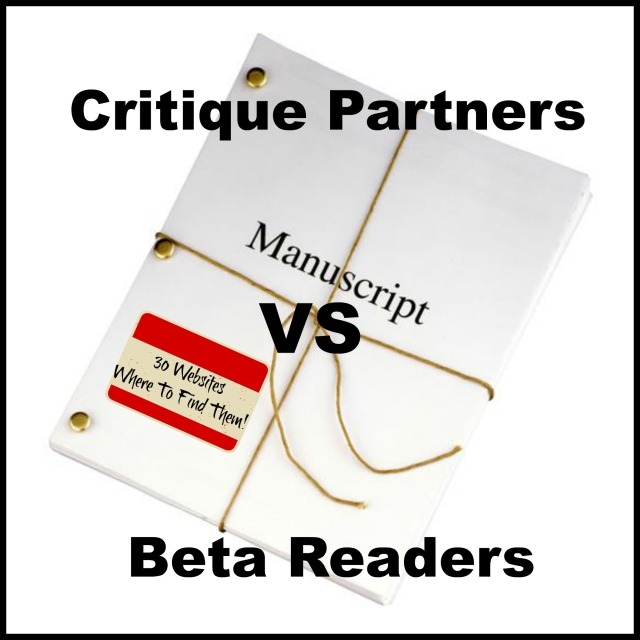 Critique Partners vs Beta Readers and Where To Find Them