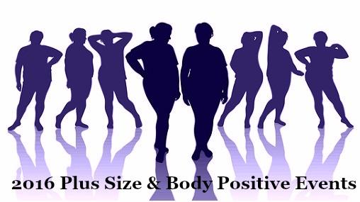 2016 Plus Size & Body Positive Events