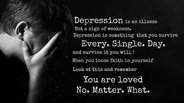 depression is an illness by Darla Denton