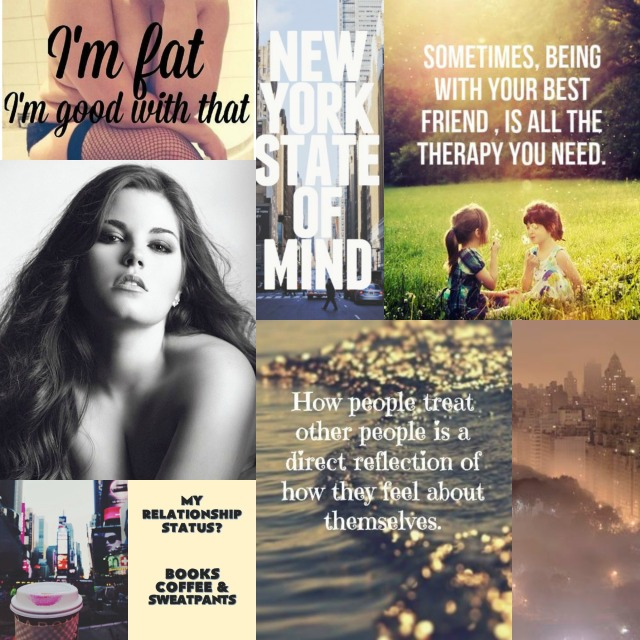 Kristen Character Aesthetic Collage